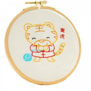 Customized Embroidery Set DIY Handmade Sewing Craft Embroidery Kits for Beginner 511101-511113