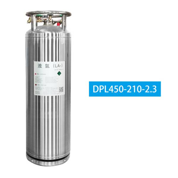 Liquid argon cylinder6589