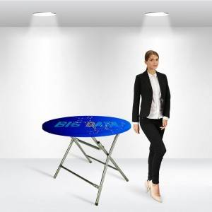 Round Stretch Table Topper