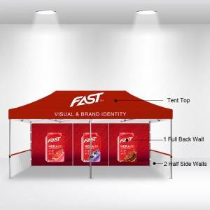 10×20 Custom Pop Up Tent