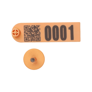 UHF sheep Animal RFID Ear Tag for Farm smart management