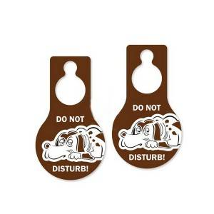 pvc do not disturb door hanger