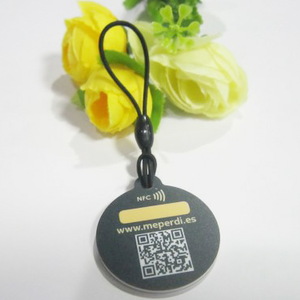 round nfc qr tags low cost