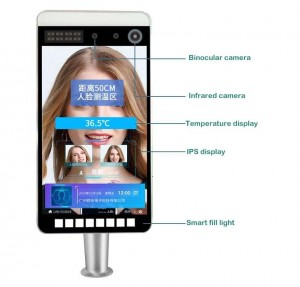Tablet Thermal Face Recognition Camera AX-11C