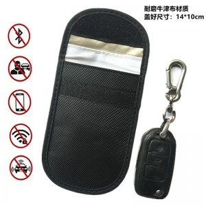 NFC RFID Car Key bag/anti-Signal Oxford Fabric Blocking Secure Pouch
