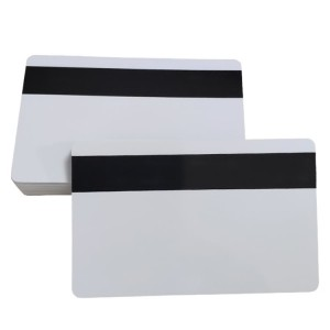 Custom Plastic PVC Blank Magnetic Stripe Cards