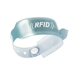 Waterproof Disposable PVC rfid wristband