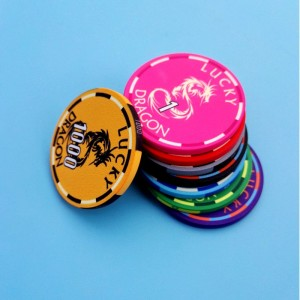 Custom ceramic golf poker chip Casino Poker Chip