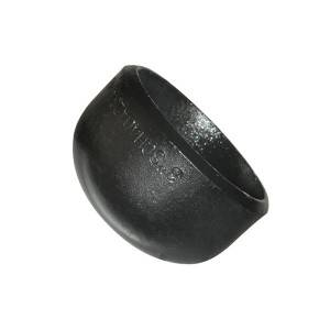 Black Steel Pipe Cap