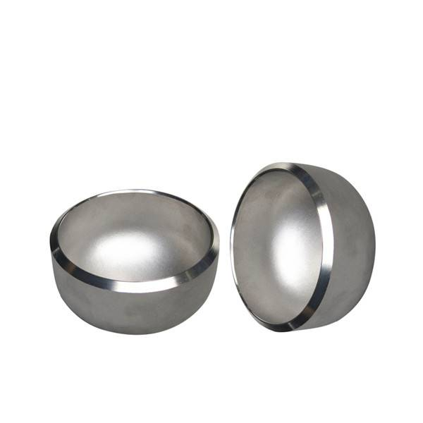 White Steel Pipe Cap