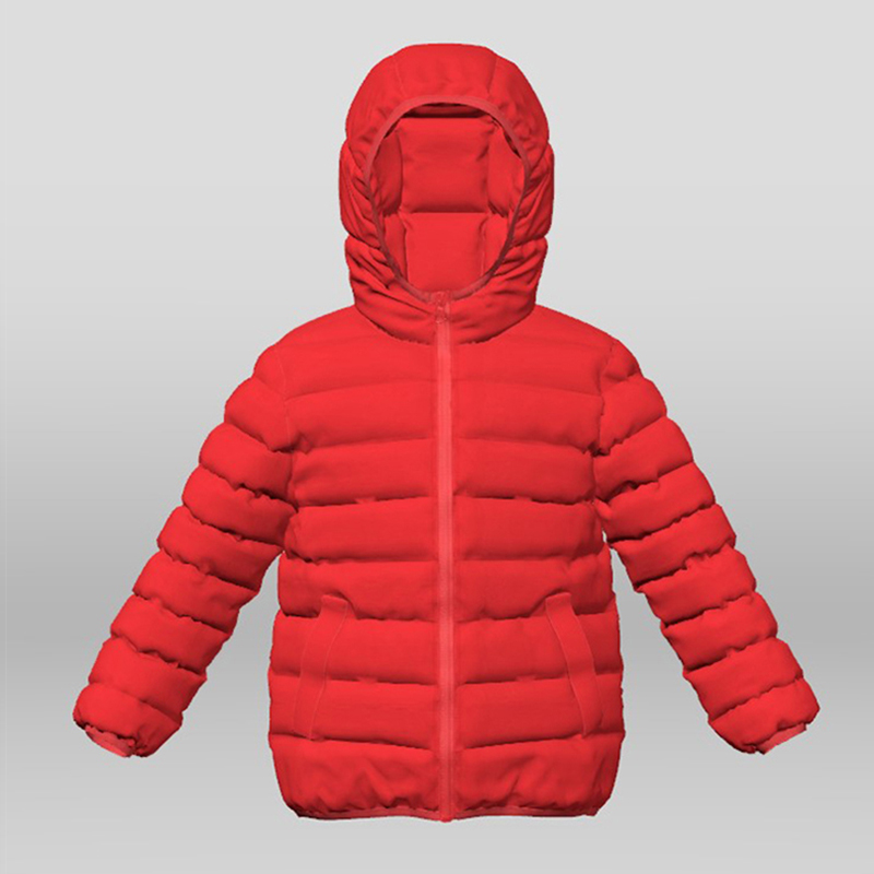 Girl's Real Down Jacket Featured Image