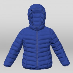 Girl's Real Down Jacket