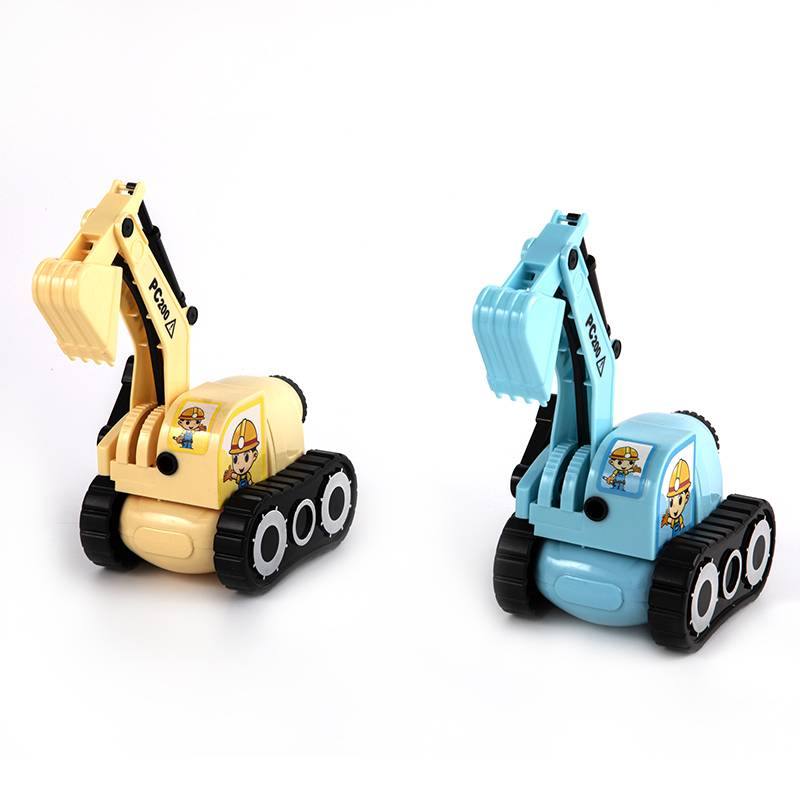 Excavator automatic pencil sharpener