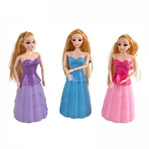 Princess barbie piggy bank & automatic pencil