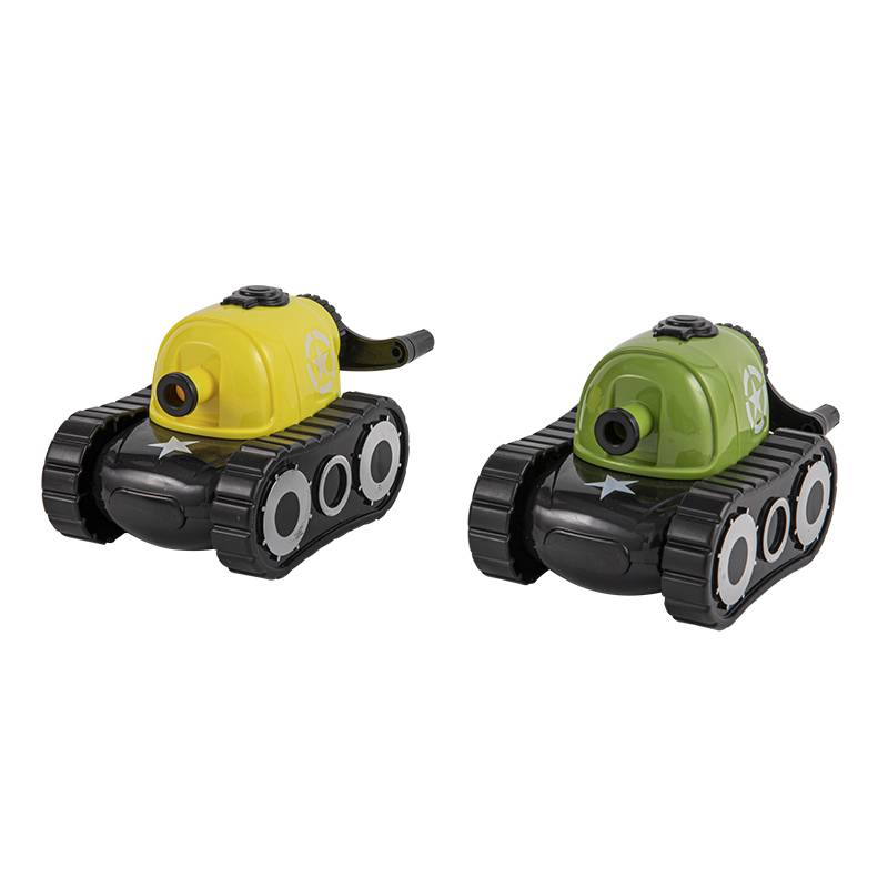 Tank automatic pencil sharpener
