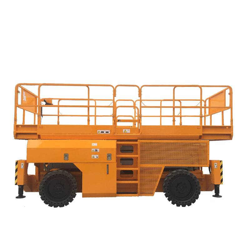 Rough Terrain Diesel Power Scissor Lift