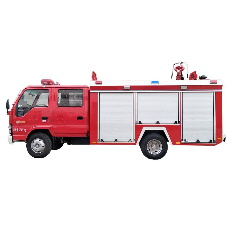 Foam Fire Fighting Truck