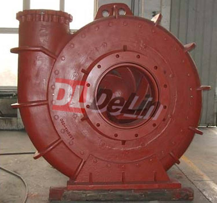 Double Casing Dredge Pump