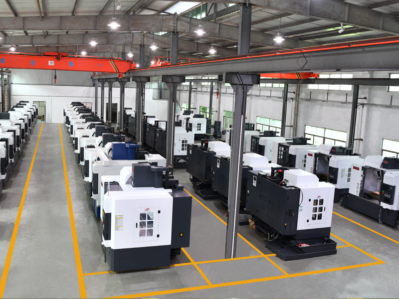 CNC milling machine factory