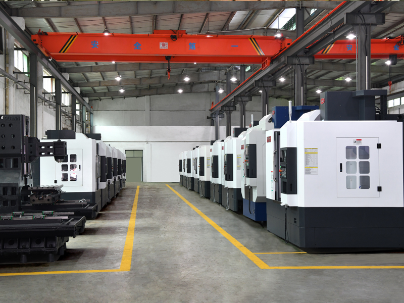 CNC milling machine factory1