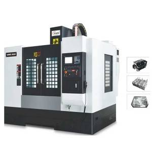 VMC Series CNC Milling machine three hard track