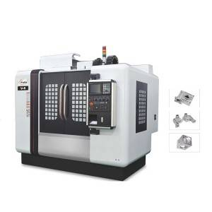 V Series CNC Milling machine three track