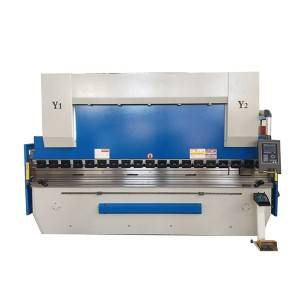 Technical parameter of Hydraulic press brake with E21 125T/2500 mm