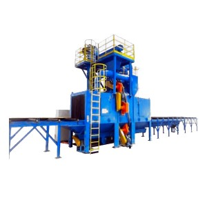 H Beam Steel Structure Shot Blasting Machine