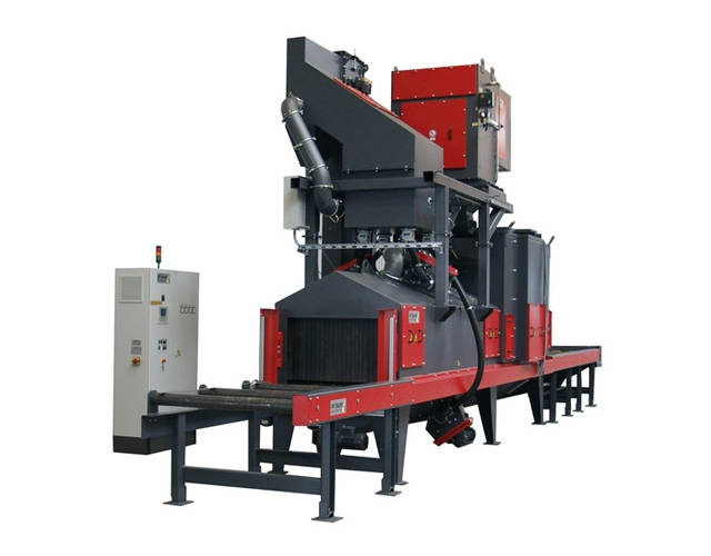 Automatically Ahorizontal H Beam Rust Remove Shot Blasting Machine Featured Image