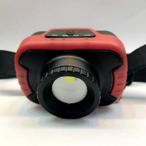 T0211 LED Rechargeable Zoom-able Headlamp
