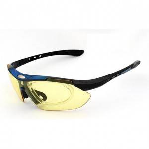 DLX0089 Sports Outdoor Sunglasses with PC lenses