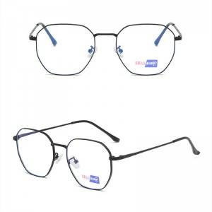 DLO3023 Large rimmed blue glasses