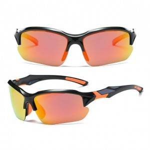 DLX9301 Polarized Photochromic Men's Sports Glasses