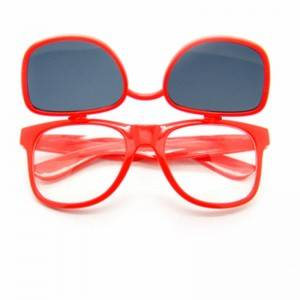 DLC9002 Custom logo Flip up Lenses Promotional Sunglasses