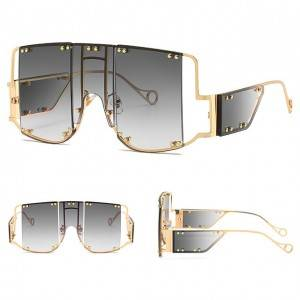 DLL902 Metal Frame Fashion Sunglasses