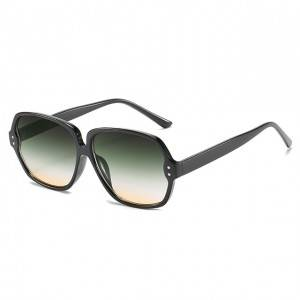 DLL9083 Fashion Square sunglasses for women
