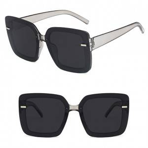 DLL6048 Fashion Large Square Sunglasses
