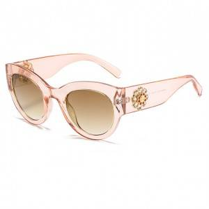 DLL4353 Luxury Women Sunglasses with Diamonds