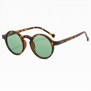 Super Lowest Price China Round Retro Sunglasses with Polarized Lens