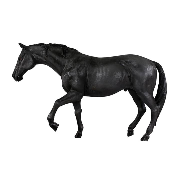 Outdoor Sculpture Custom Resin Animal Statues Life Size Fiberglass Horse Statue