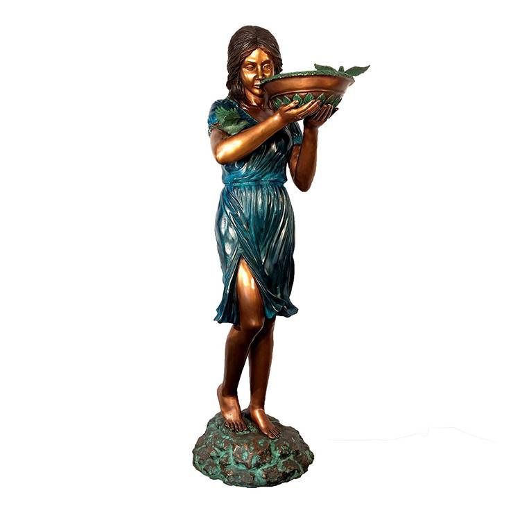 Beautiful women dancing fountain for sale