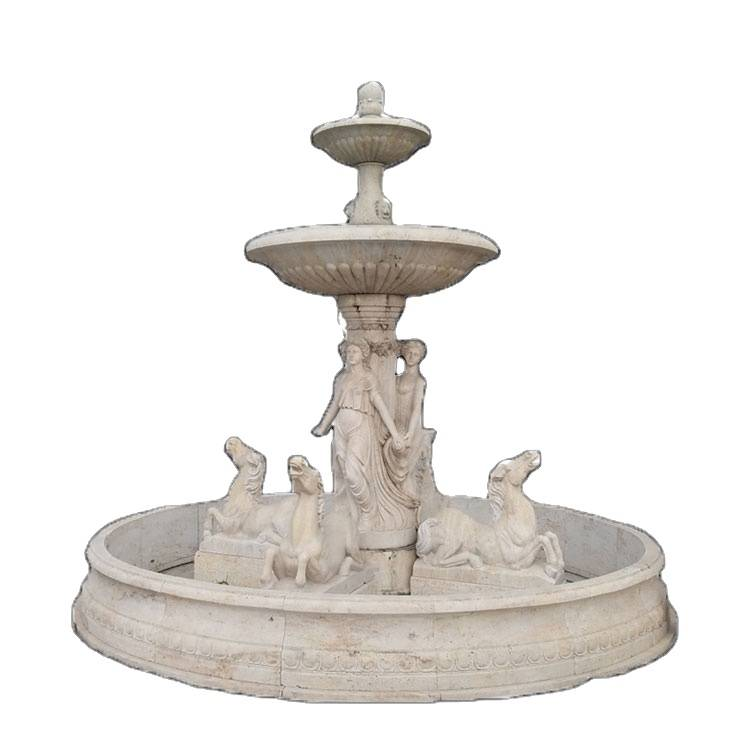 Chinese supplier custom marble antique water fountains