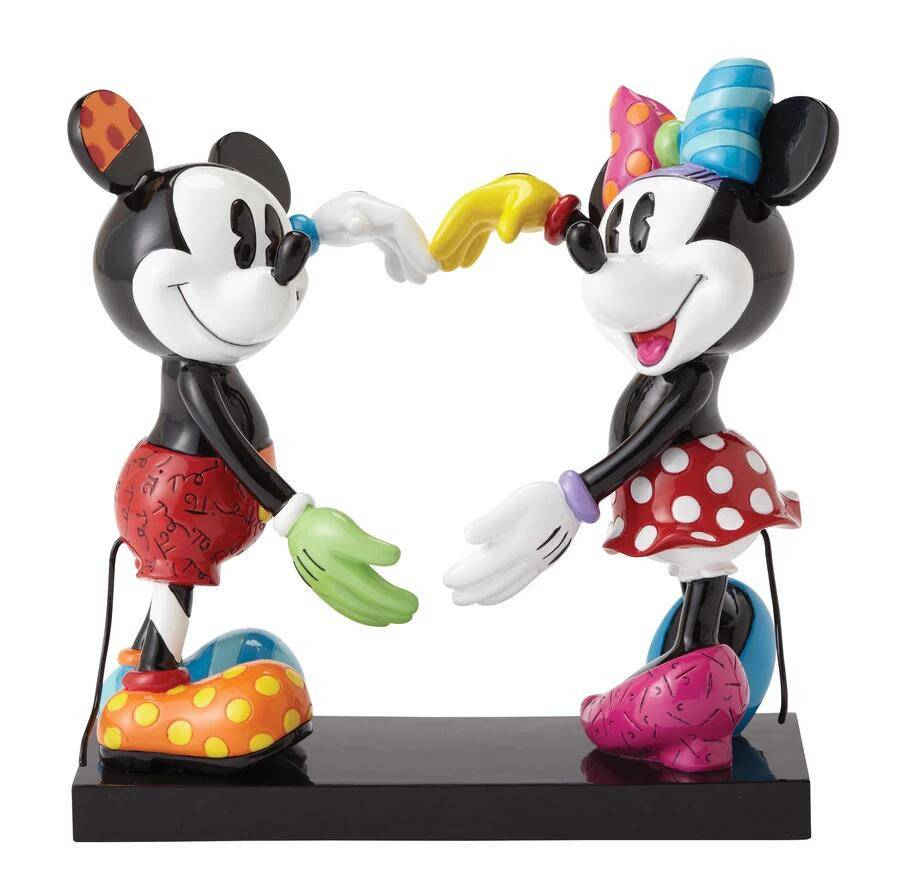Park decoration resin material sculpture life-size Mickey Mouse statue on sale