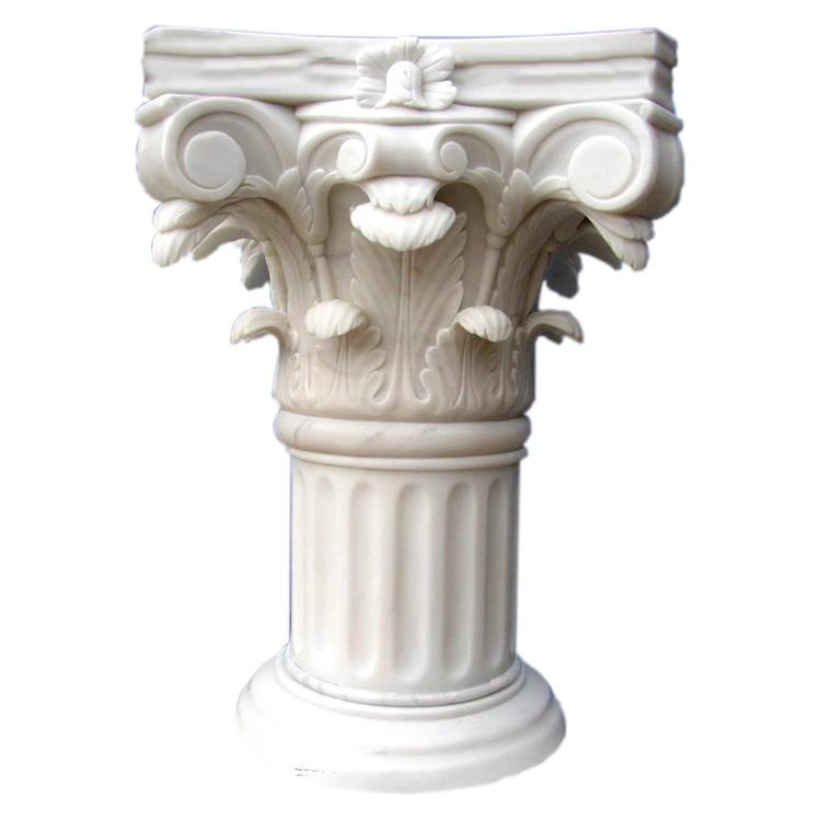 Morden luxury natural marble decoration house pillar designs for building materials  for interior