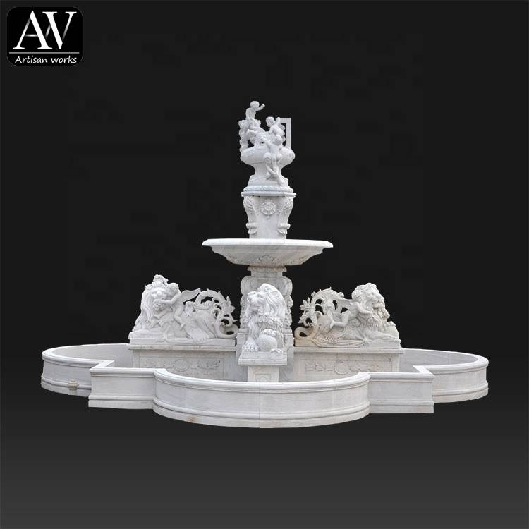 Competitive price outdoor garden water fountain supplier