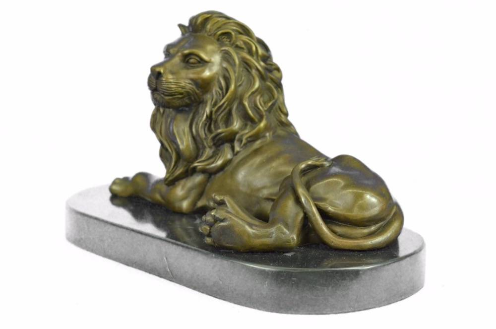 hot sales large outdoor life size bronze lion statues sculpture