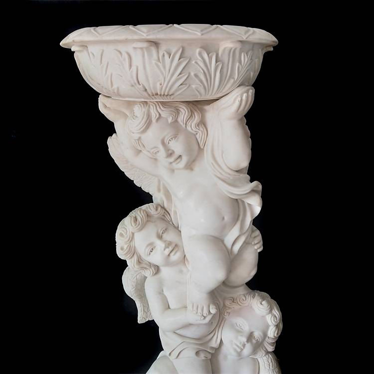 Hot Sale Hand-carved Garden Decoration Flowerpot Stone Sculpture