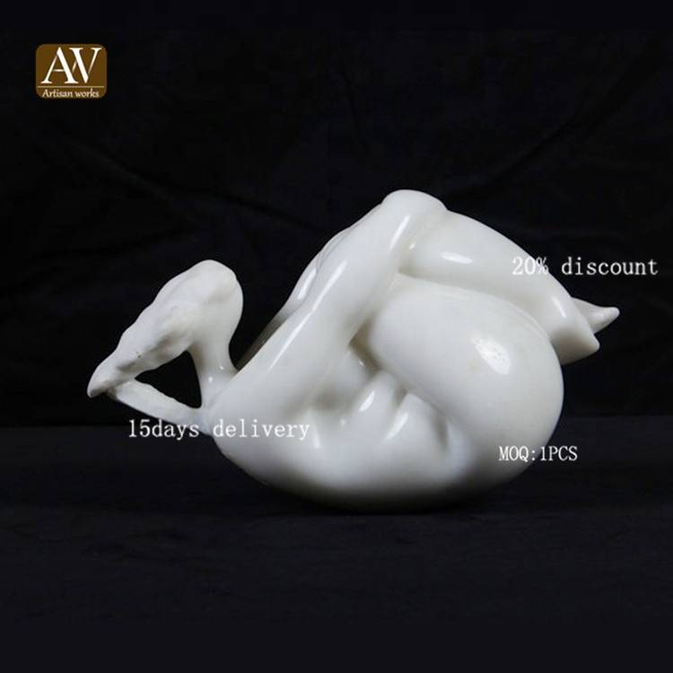 High quality flying thought people decoravtive art sculpture