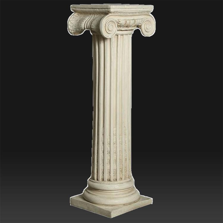 Large size Natural Square Marble pillars for home decorative designs