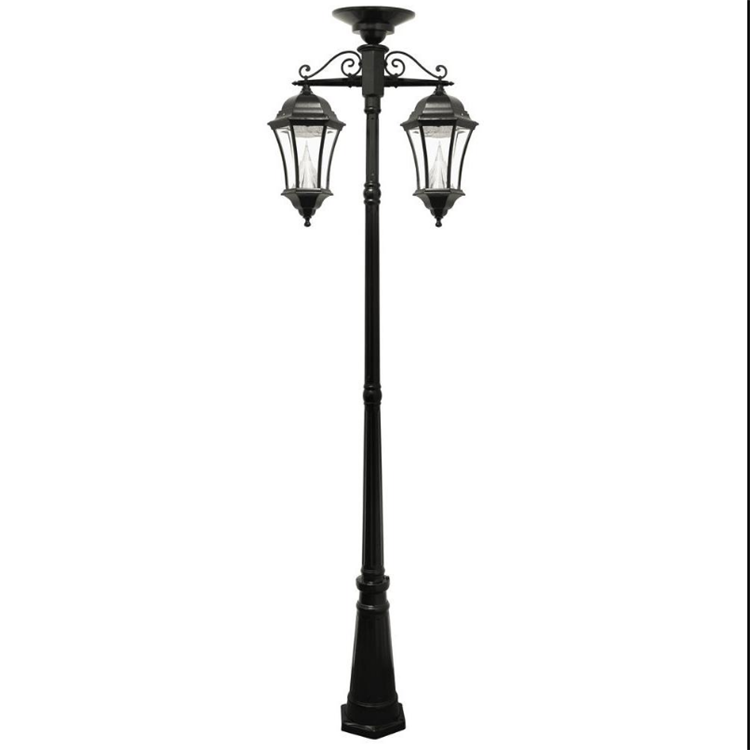 life size Cast iron outdoor antique street lamp post